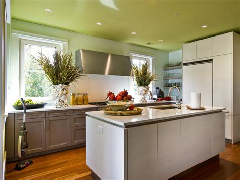 Ideas To Paint A Kitchen | painting kitchen ceilings pictures ideas tips from