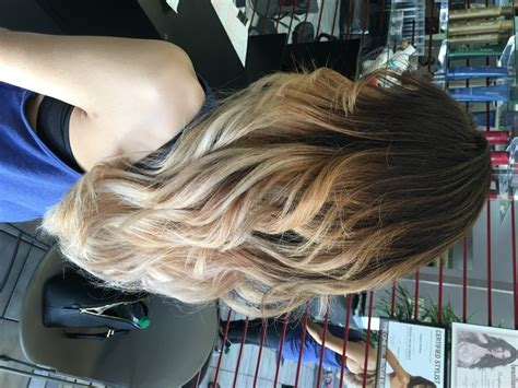 does hair look like ombre when highlights growing out ombre highlights balayage hair salon services best