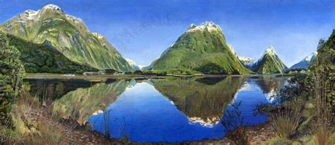 Landscape Artists New Zealand Landscape