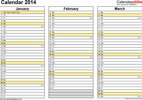 monthly calendar excel template exceltemplates