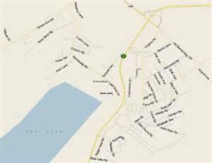 deer lake map map newfoundland listings canada