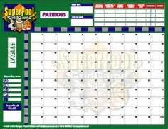 Football Board Template by 100 Square Football Board Bowl Football Squares