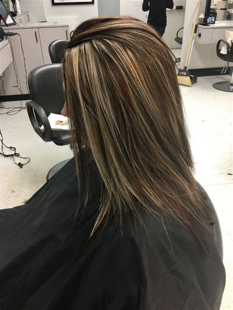 Pictures Of Hair Dark With Blonde Highlights Over The Top | best 25 brown hair with blonde ideas on pinterest brown