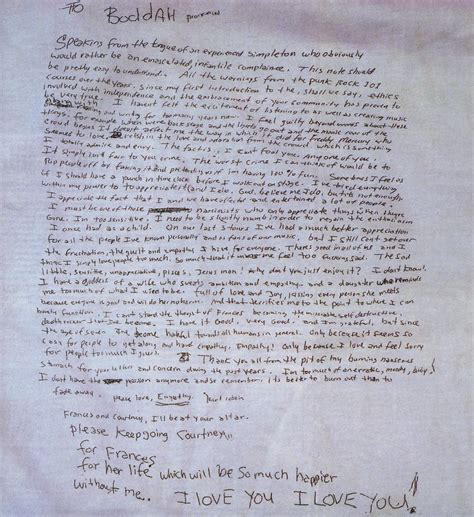 note lettere i transcribed kurt cobain s note i ve never read
