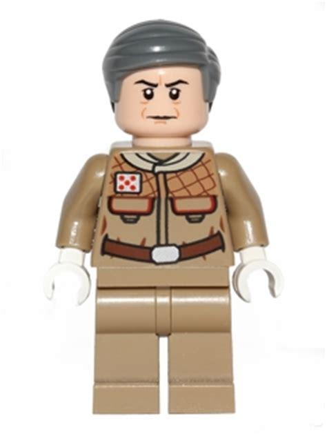 Lego Minifigure General Rieekan 75014 battle of hoth