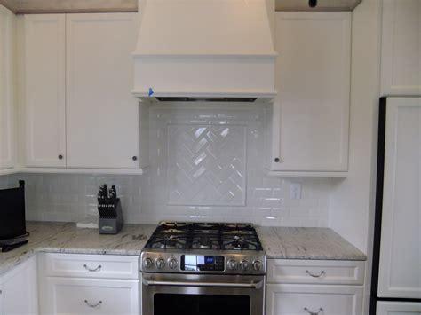 herringbone kitchen backsplash construction
