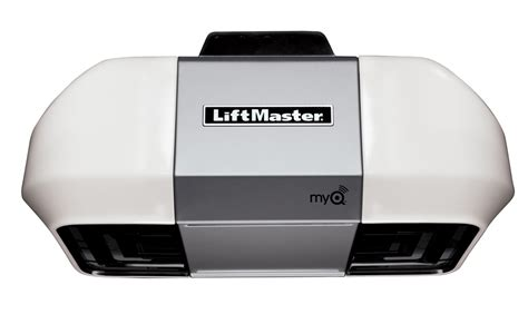 1 2 Vs 3 4 Hp Garage Door Opener Liftmaster 8355 Premium Series 1 2 Hp Ac Belt Drive Garage Door Opener Rail Not Included