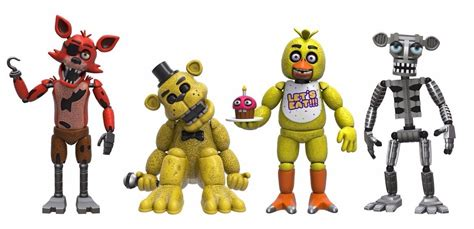 Set 2 Figure by Mu 241 Eco Funko Five Nights At Freddy S 4 Figure Pack 1 Set