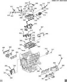 2008 pontiac torrent engine asm 3 5l v6 part 5 manifolds fuel related parts