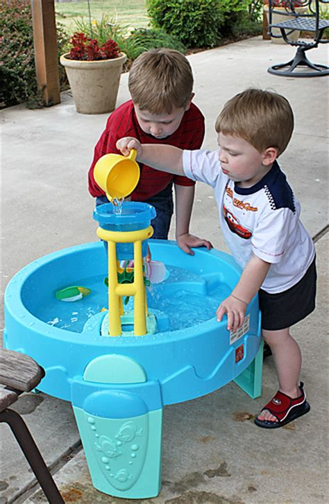 step2 waterwheel play table danz family 2 waterwheel play table