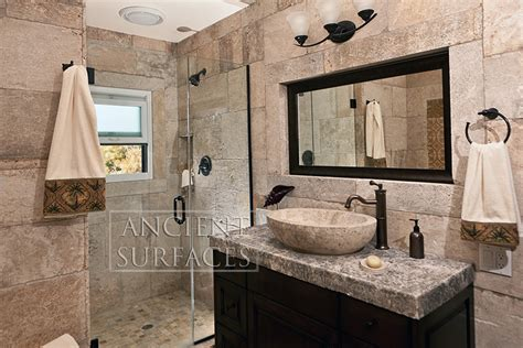 limestone bathroom our antique flat wall stone cladding collection by ancient