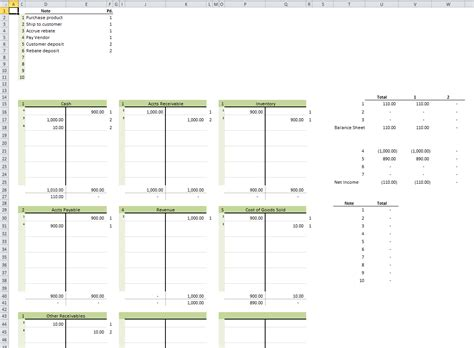 T Accounts Excel Template t accounts daily dose of excel