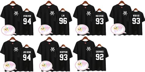 monsta x merch monsta x member logo shirt on storenvy