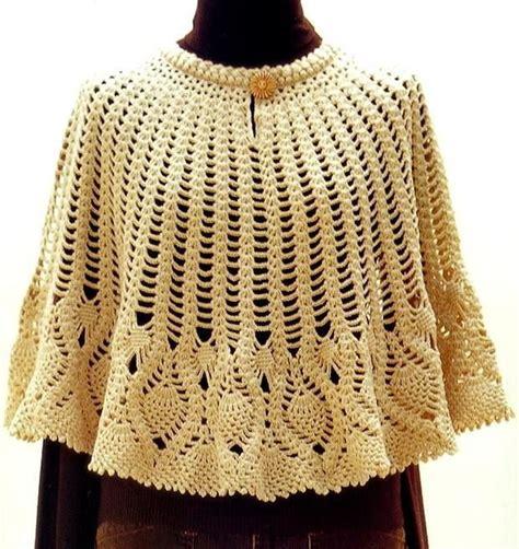 7 Beautiful Ponchos by Crochet Lace Poncho Pattern Beautiful Poncho A Crochet