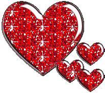 imagenes de emo brillantes corazones brillantes para realizar dise 241 os y compartir