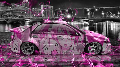 pink subaru wrx subaru impreza wrx sti jdm tuning anime city car 2015