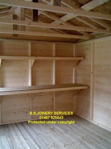 Wooden Shelving For Sheds 25 best ideas about shed shelving on garage