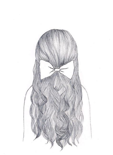 pretty hairstyles drawing pretty drawn hairstyle via tumblr image 941904 by