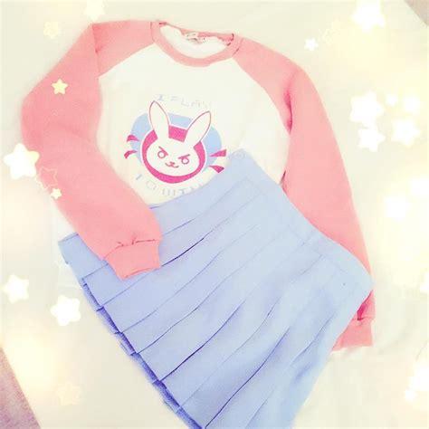 Sweater Dva Bunny Redmerch Overwatch Ow Dva Rabbit Bunny Jumper Sweater Sp167742