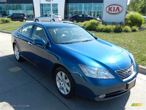 lexus blue color 2008 aquamarine blue lexus es 350 68772178 photo 4