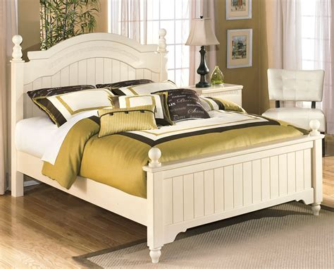 cottage bed white queen size poster bed furniture stores chicago