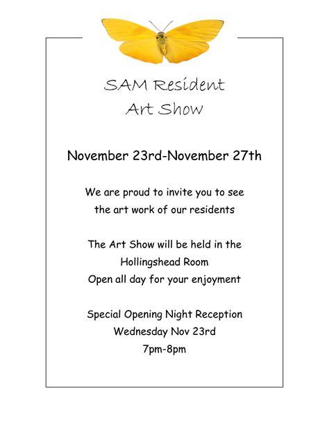 templates for art exhibition invitations art exhibition invites sles google search