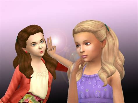 childs hairstyles sims 4 79 best images about ts4 hair kids cf on pinterest