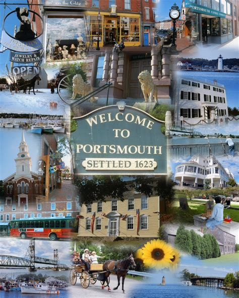 collage of from maine to new hshire photographic artist marc gagnon portsmouth new hshire collage