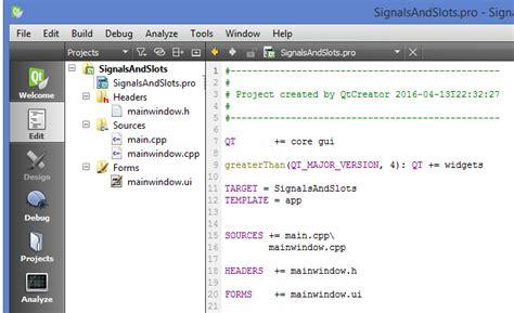 qt tutorial signals and slots qt tutorials for beginners qt signal and slots