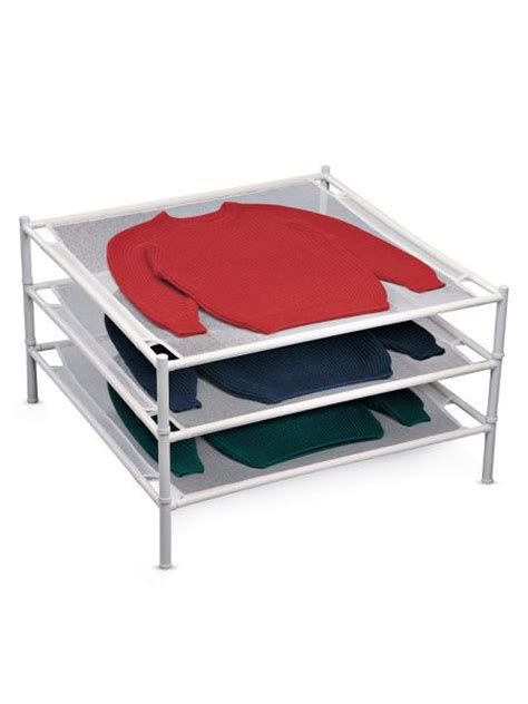 Mesh Drying Rack by Stackable Mesh Sweater Drying Rack Solutions
