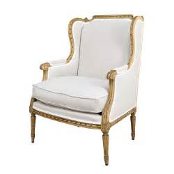 antique louis xvi style painted bergere chair on
