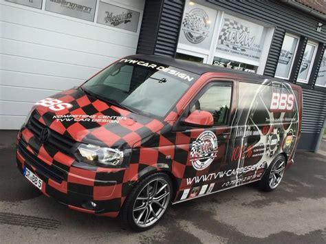 T6 Tieferlegen Kosten by Tvw Car Design Firmenbus Vw T5 Tuning Bbs Folierung 7