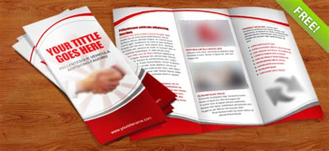 tri fold brochure template psd free 35 best free brochure templates feedtip
