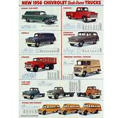 Transpress Nz 1956 Chevrolet Truck Van And School Bus Brochure