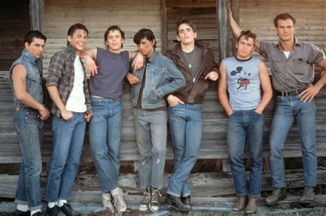 did dillon dreyer star in the movie the trail quot the outsiders quot tom cruise rob lowe c thomas howell