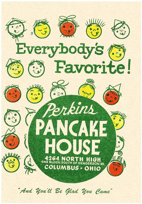 perkins pancake house perkins pancake house columbus ohio 1940s products pinterest paper natural and