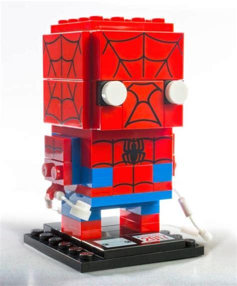 Lego Brickheadz Sdcc 41497 Spider Venom Original sdcc 2017 exclusive lego spider venom brickheadz marvel news