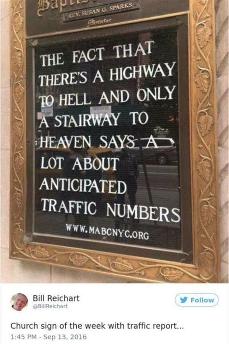 hilarious  clever church signs barnorama
