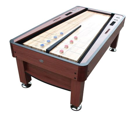 rebound model shuffleboard table by berner billiards