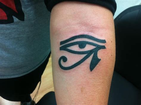 eye of horus tribal tattoo horus