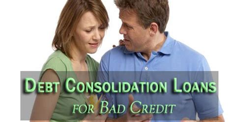 debt consolidation loans for with bad kredit debt consolidation loans for bad credit consolidate your