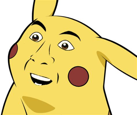 Pikachu Meme - image 265003 give pikachu a face know your meme