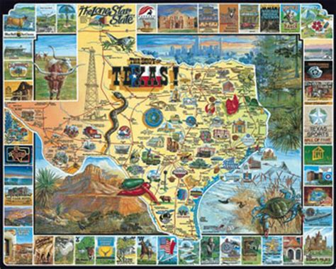 texas landmarks map best of texas jigsaw puzzle places landmarks maps vermont company