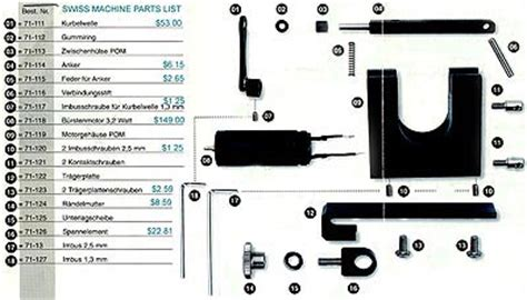 tattoo gun parts swiss tattoo machine parts