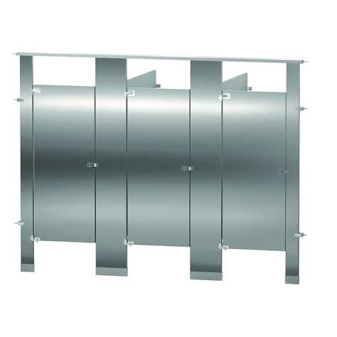stainless steel bathroom partitions bradley toilet partitions stainless steel 3 between wall
