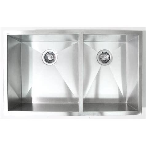 32 inch kitchen sink 32 inch stainless steel undermount 60 40 bowl