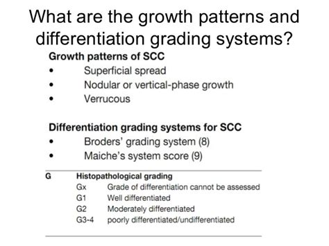 growth pattern classification ca penis edmond