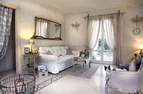 tende per salotto country tende salotto shabby idee per il design della casa