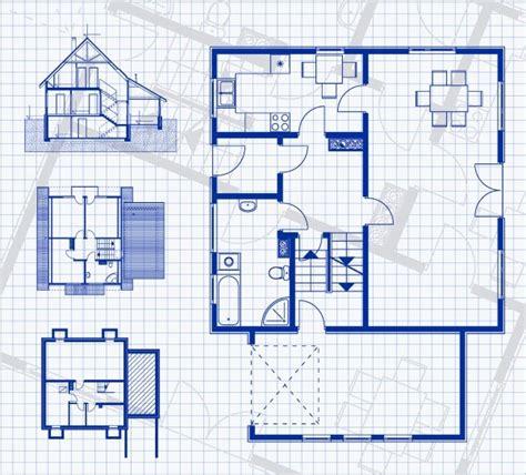 storey house blueprint  vertikal