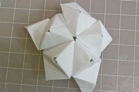 Modular Origami 30 Units - modular origami how to make a cube octahedron
